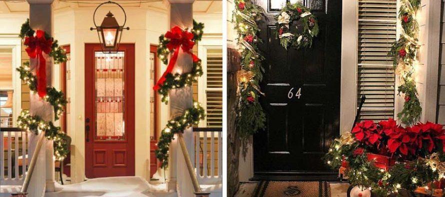 Paso a paso para decorar las puertas para navidad curso for Decoracion del hogar paso a paso