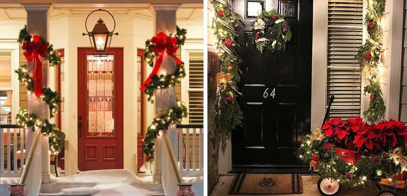 Paso a Paso para Decorar las Puertas en Navidad (18)