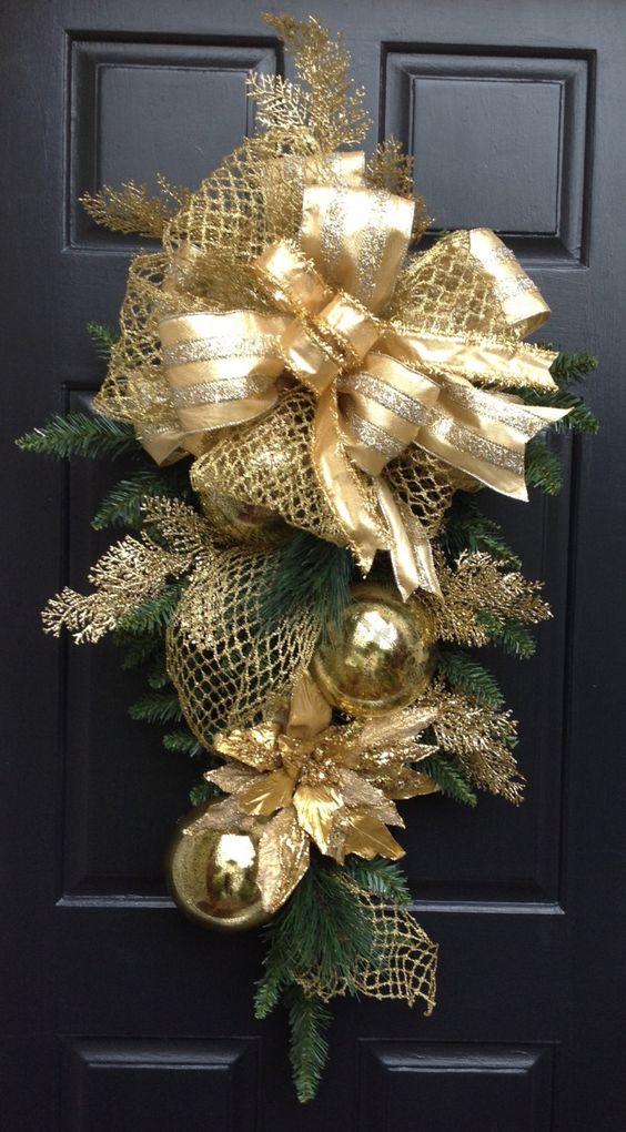 Paso a Paso para Decorar las Puertas para Navidad