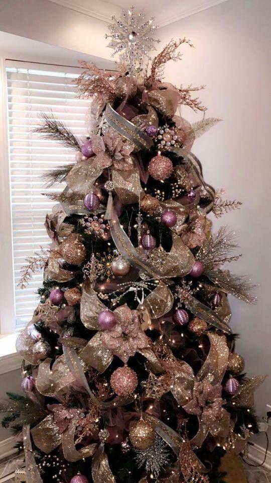 Tendencias para decorar tu rbol de navidad 2018 2019 - Arbol de navidad elegante ...