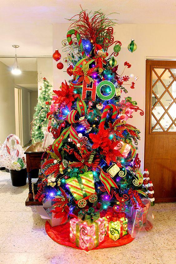 Tendencias para decorar tu rbol de navidad 2019 2020 - Arbol navideno blanco decorado ...