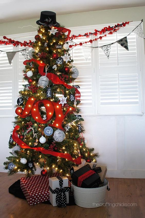 letras para arboles navideños