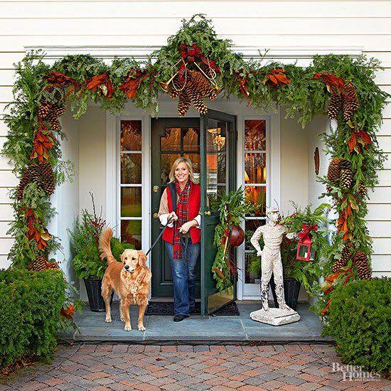 Adornos de navidad para las puertas - Adornos de navidad para las puertas ...