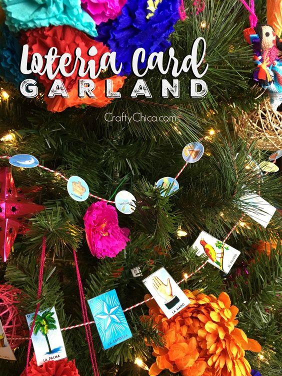Guirnaldas para el árbol de navidad