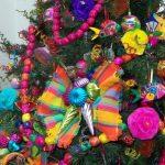 Árbol de navidad con tema mexicano