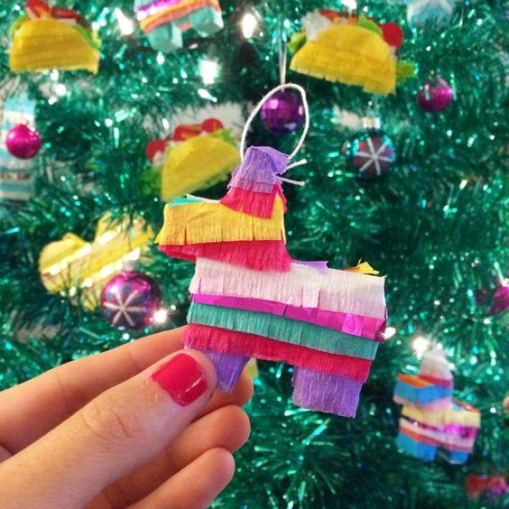 Ornamentos para tu árbol de navidad