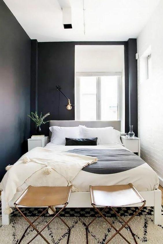 ¿Como decorar la habitación en un pequeño departamento?