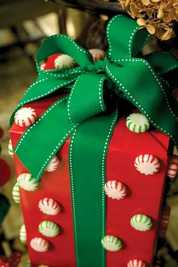 Empaques para regalo de navidad