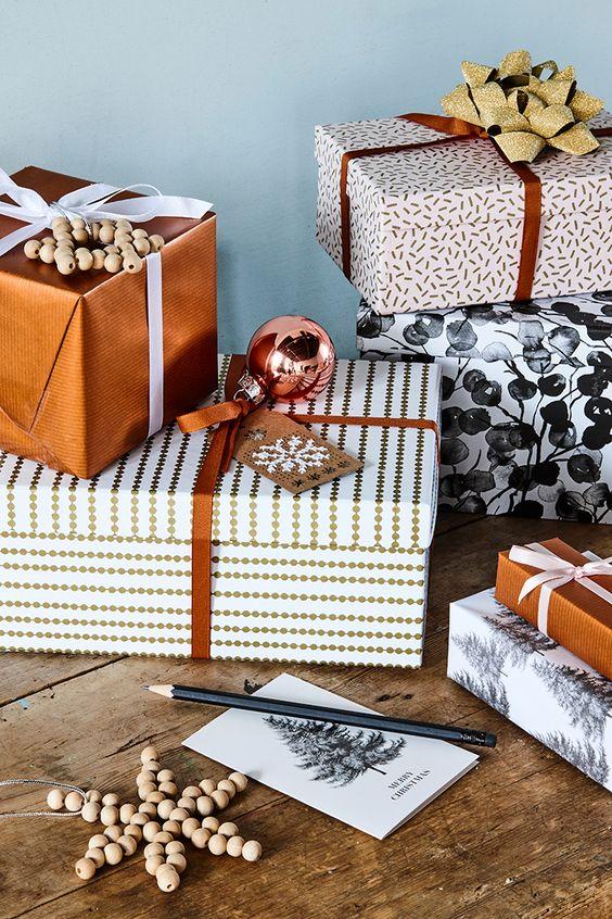 Tendencias en envolturas navideñas