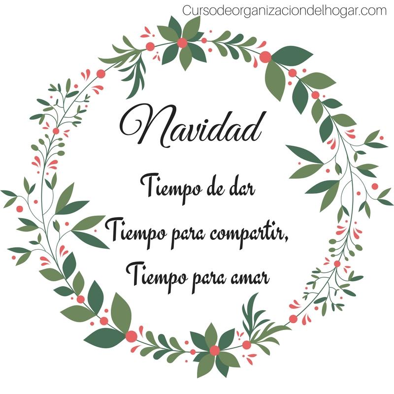 Frases Navidad 2 Curso De Organizacion Del Hogar Y