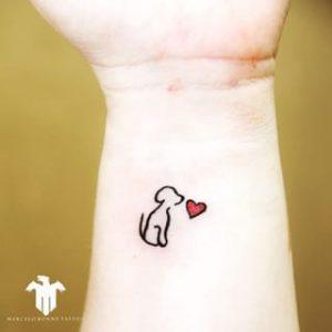 Ideas de Tatuajes sobre Mascotas (12)