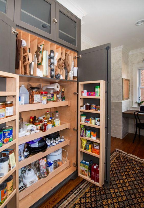 Ideas para Organizar la Despensa en la Cocina (15)Ideas para Organizar la Despensa en la Cocina (15)