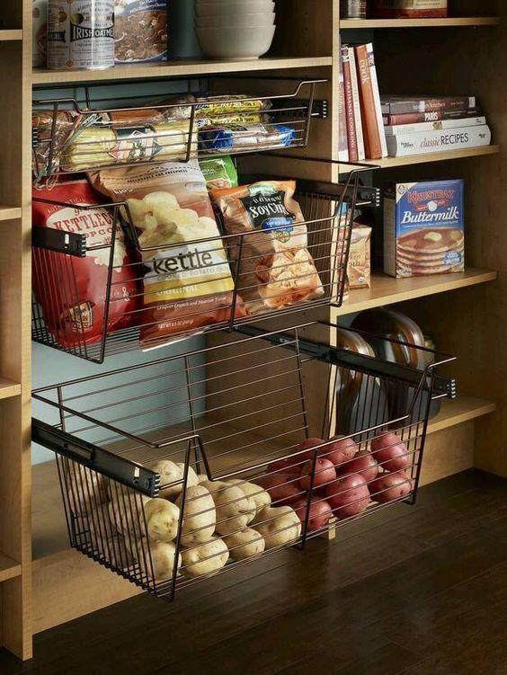 Ideas para Organizar la Despensa en la Cocina (19)
