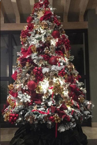 los mejores arboles de navidad decorados 2 curso de