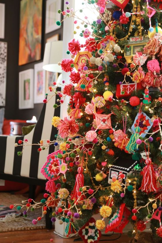 Arboles de navidad curso de organizacion del hogar y - Los mejores arboles de navidad decorados ...