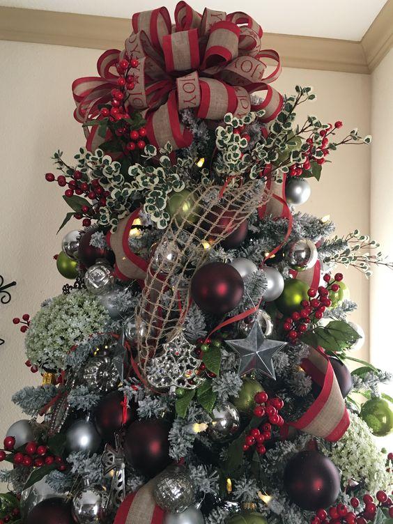 Los mejores arboles de navidad decorados 25 curso de for Arboles navidenos decorados