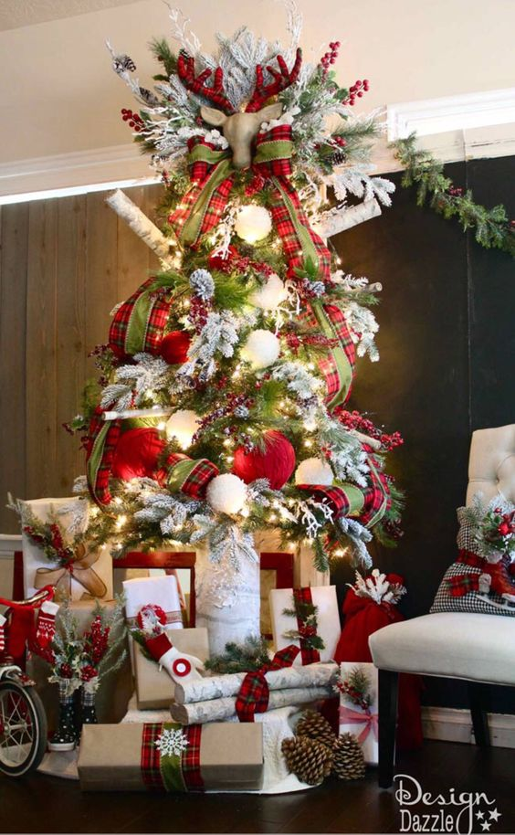 Los mejores rboles de navidad decorados tendencias y estilos - Imagenes de arboles de navidad decorados ...