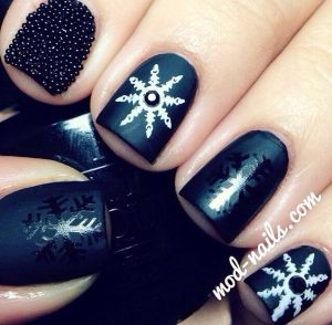 Manicura para Navidad