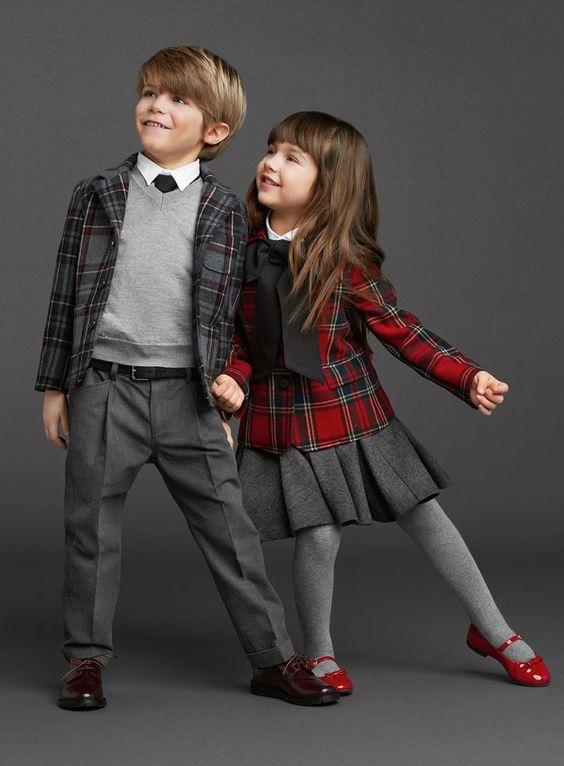 Moda para niños y bebés de 4 a 8 años