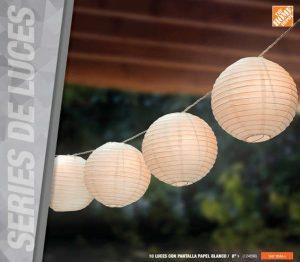 Series de Luces en Catalogo de Iluminación The Home Depot