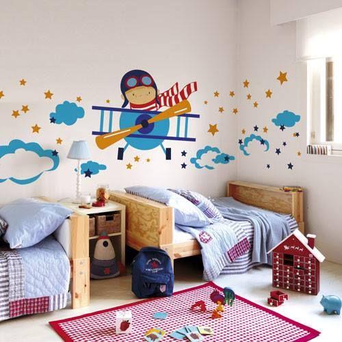 Ideas de decoraci n para la habitaci n de los ni os Decoracion cuarto nino