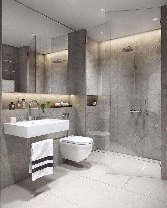 decoracion de baños grandes