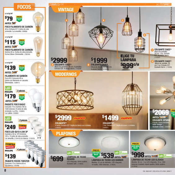 candiles tipo vintage en catalogo de iluminacion 2018 the home depot (4)