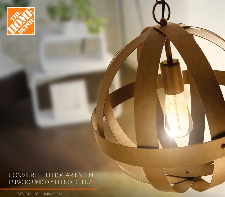 catalogo de iluminacion 2018 the home depot