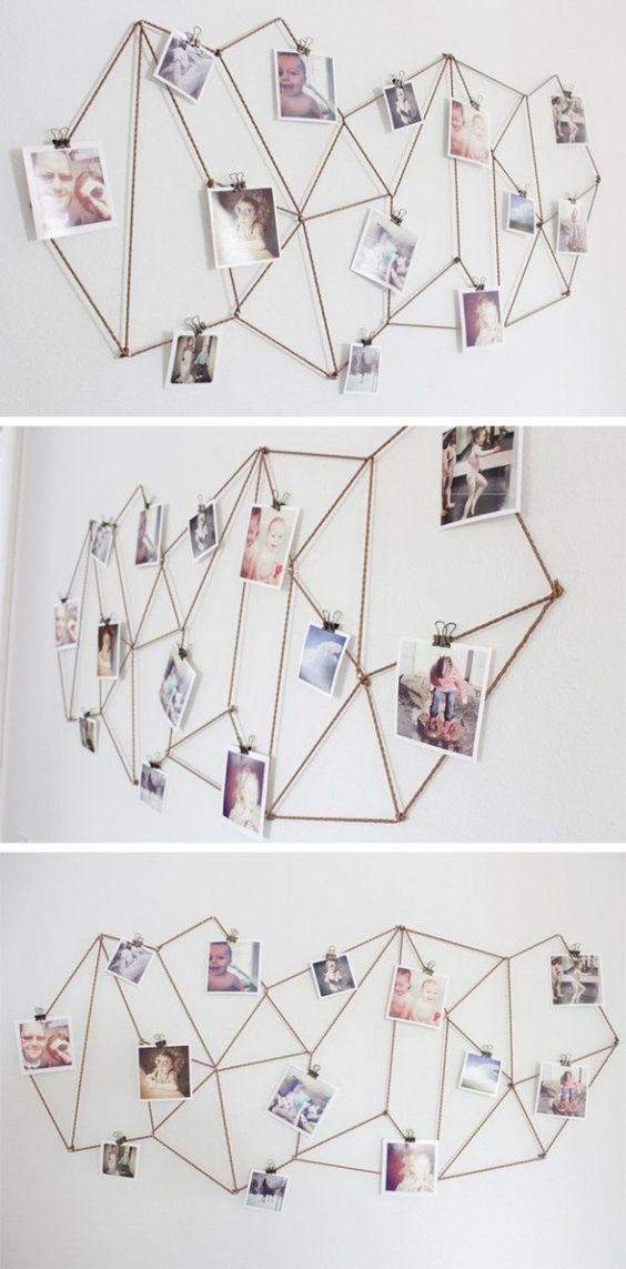 colgar fotos con cuerda (1)