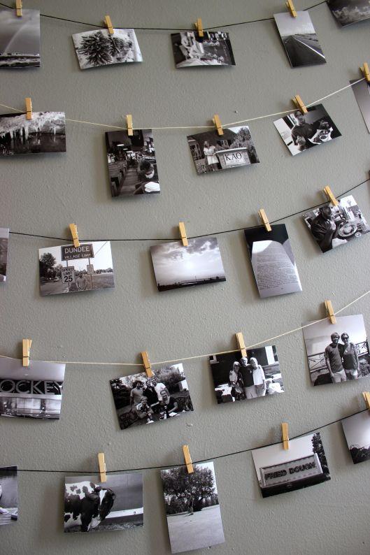 colgar fotos con cuerda (2)