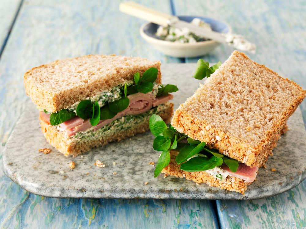 como hacer sandwich filling para la hora del te