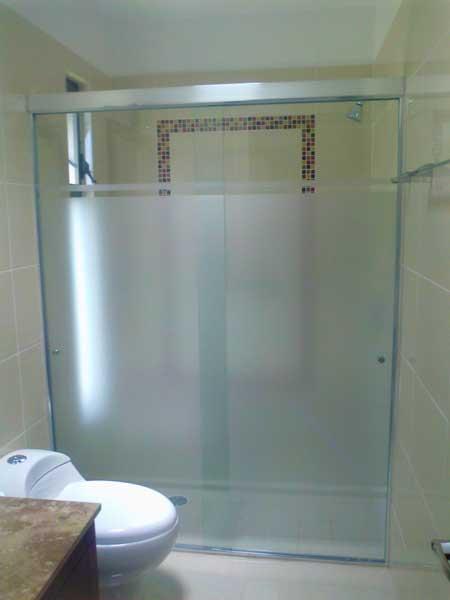 cristal templado para baños