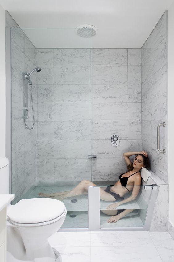 cuando elegir tina de baño o cuando regadera