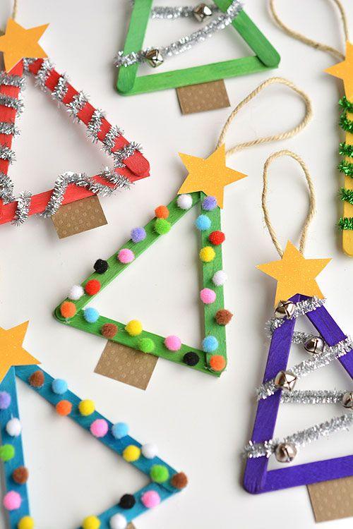 De 200 Manualidades Y Adornos Para Navidad Paso A Paso - Decoraciones-de-navidad-manualidades