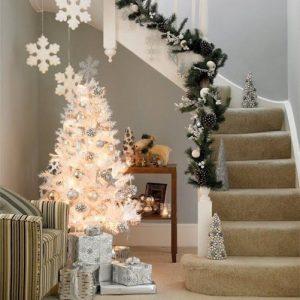 +de 25 ideas increibles ideas de Arboles de Navidad Blancos (1)
