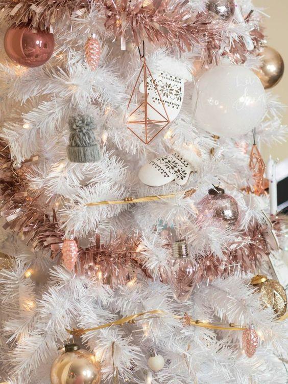 Árboles de Navidad Blancos