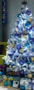Arboles de Navidad Blancos