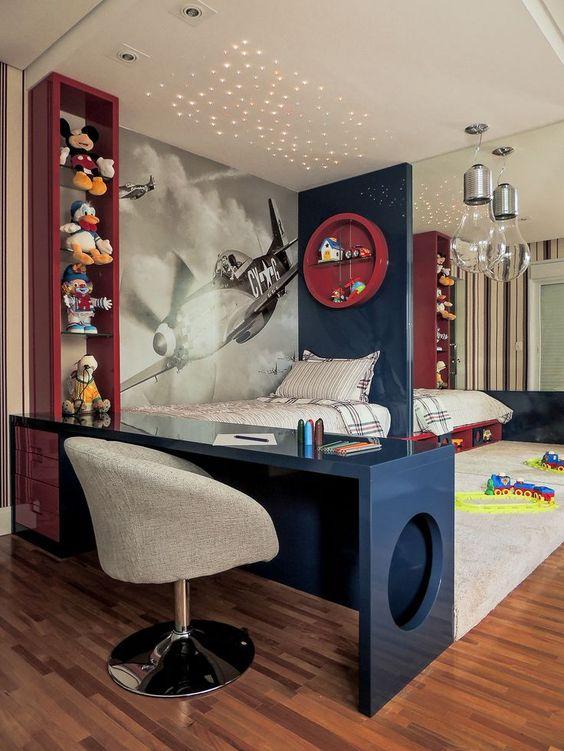 Ideas de decoraci n para la habitaci n de los ni os for Diseno de habitaciones para ninos