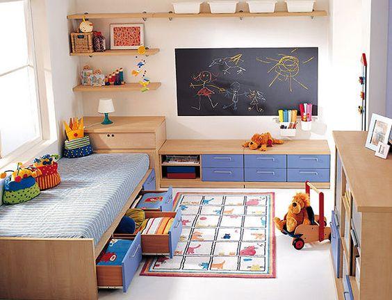 ideas de decoracion para la habitacion de los ninos (3)