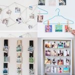 ideas para colgar fotos en la pared