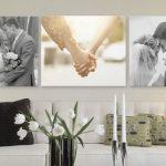 ideas para decorar la pared con fotos familiares (1)