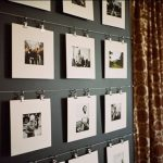 ideas para decorar la pared con fotos familiares (2)