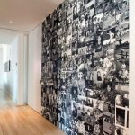 ideas para decorar la pared con fotos familiares (4)