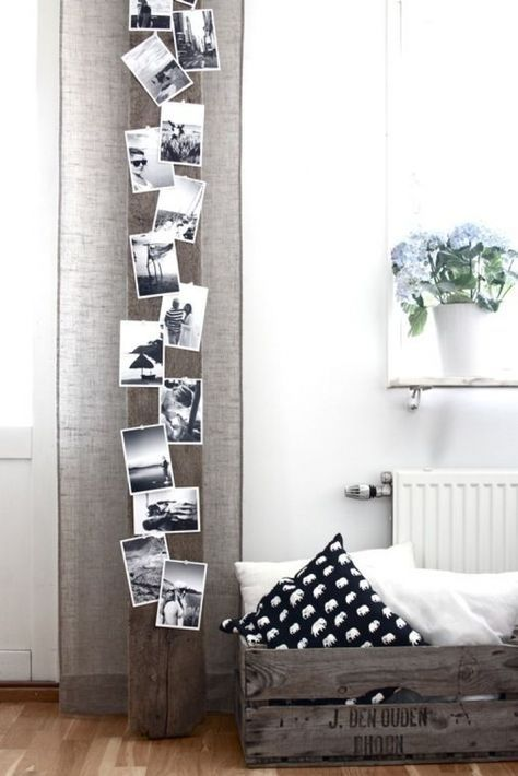 ideas para decorar la pared con fotos familiares (5)