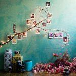 ideas para decorar la pared con fotos familiares (7)