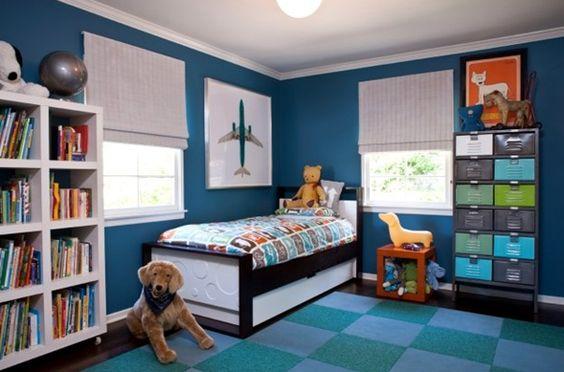 las mejores ideas para decorar cuartos para ninos varones (7)