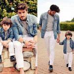 las mejores ideas para vestir a papa e hijo iguales (4)