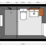 medidas minimas para baños pequeños