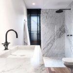 moda en azulejos o baldosas para baños 2018