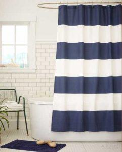 moda en cortinas para baños 2018